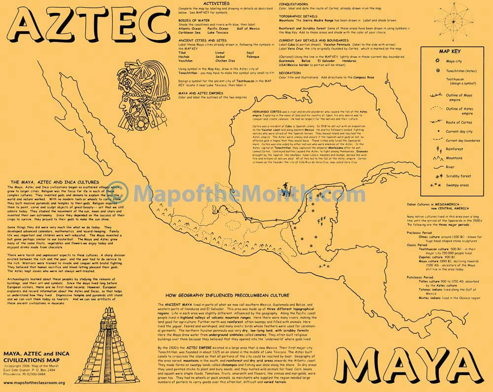 an analysis of the aztec civilization Mexico is perhaps most well-known, archaeologically speaking, as the home of the aztec civilization.