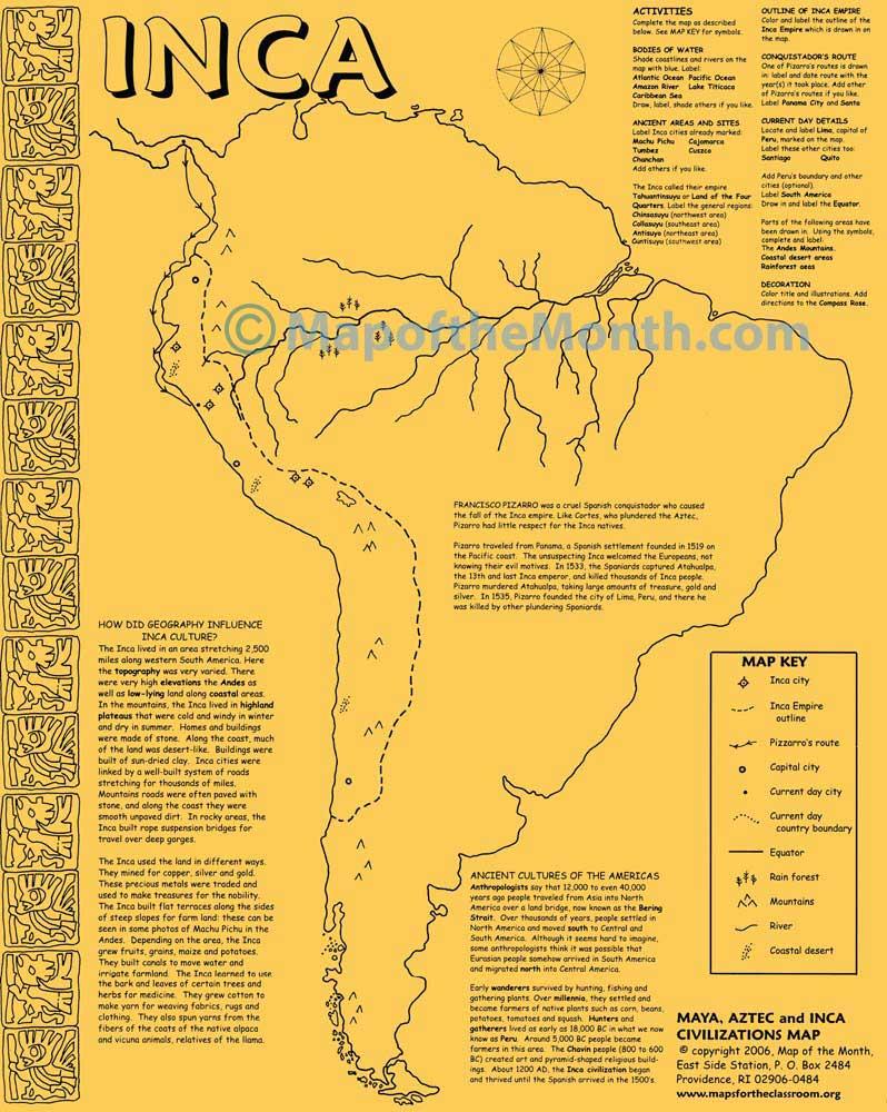inca and aztecs History of the aztecs including mexico city, aztec sun rituals, quetzalcoatl, arrival of cortes, cortes and montezuma, a brutal end.
