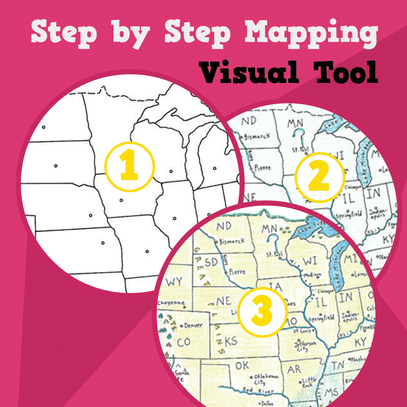 Map Of Spain For Classroom.Step By Step Mapping Spain Maps For The Classroom
