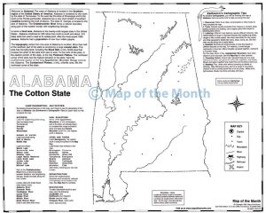 Individual US State Maps Archives Maps For The Classroom - Us individual state maps
