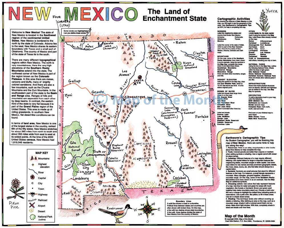 New Mexico Geography Submited Images