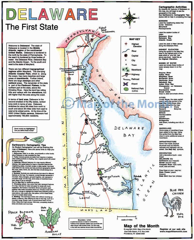 Delaware Map