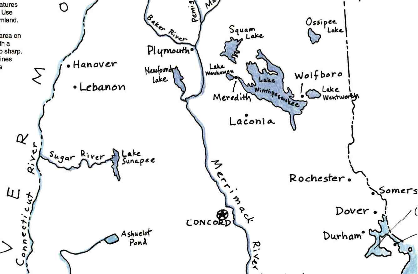 The Four Basic Stages Of Completing A Map Maps For The Classroom - Us map with rivers labeled