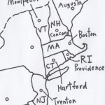 Map with Abbreviations