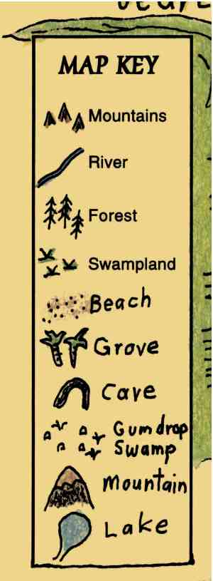 Symbols in a Map Key Maps for the Classroom