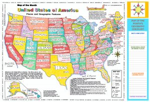 USA Place Map