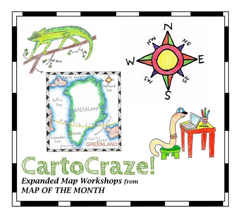 Cartocraze expanded map workshops