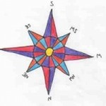 how to draw a compass rose wikihow