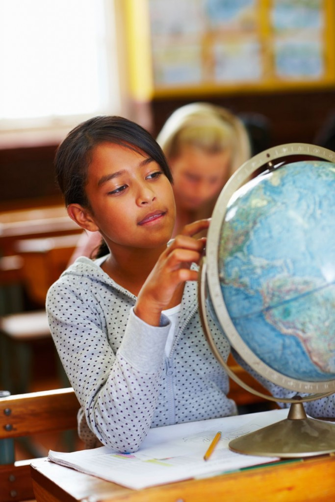 geography in the classroom