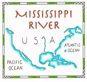 Mississippi riv color
