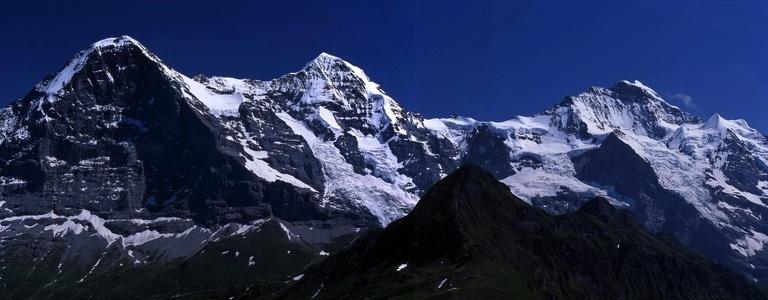 cropped Männlichen alps