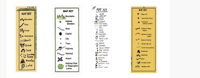 Map Symbols In Your Classroom!