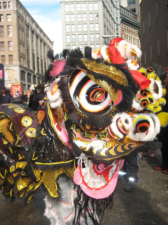 Chinese New Year Around the Globe - Maps for the Classroom