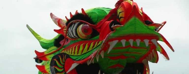 Chinese dragon blog opener