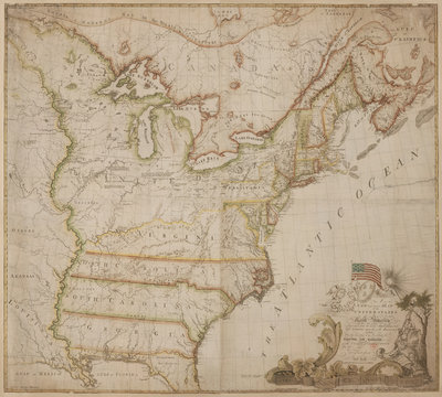 First USA map authored by an American Rogue Maps for the Classroom