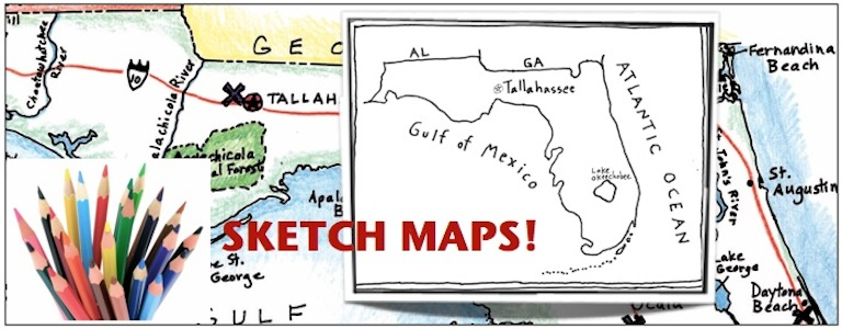 Sketch Maps in Your Clroom - Maps for the Clroom on
