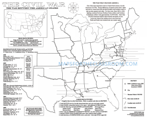Civil War - Desktop activity map