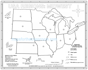 USA Regions: Midwest