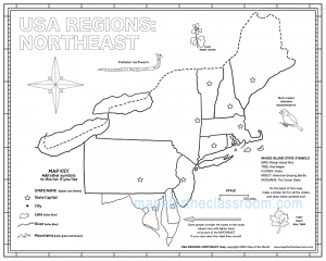 USA Regions: Northeast