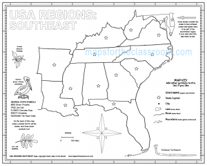 USA Regions: Southeast
